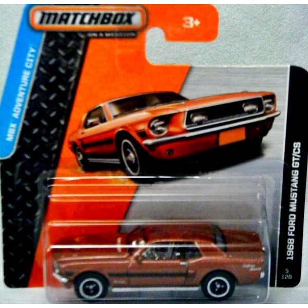 Matchbox Ford Mustang Gt Cs on Chev Corvair