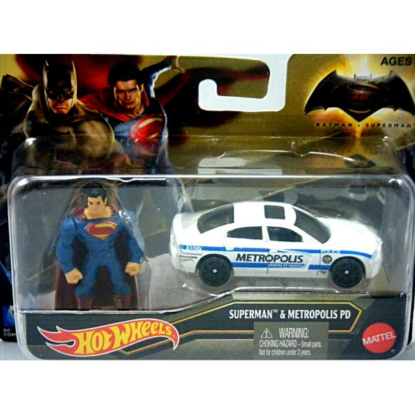Hot Wheels Batman Superman Set Dodge Charger