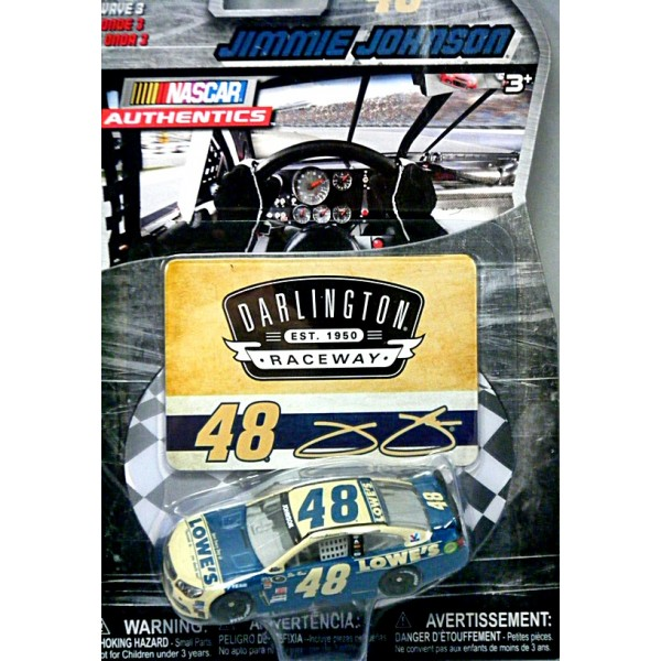 Nascar Authentics Hendrick Motorsports Jimmie Johnson Lowes Chevrolet Ss Global Diecast Direct