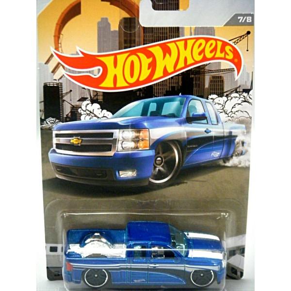 Hot Wheels Chevy Silverado Pickup Truck
