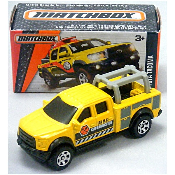 Matchbox Grabs Toyota Tacoma Contractor S Pickup Global Cast Direct
