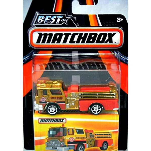 matchbox 1975 mack cf pumper fire truck global diecast
