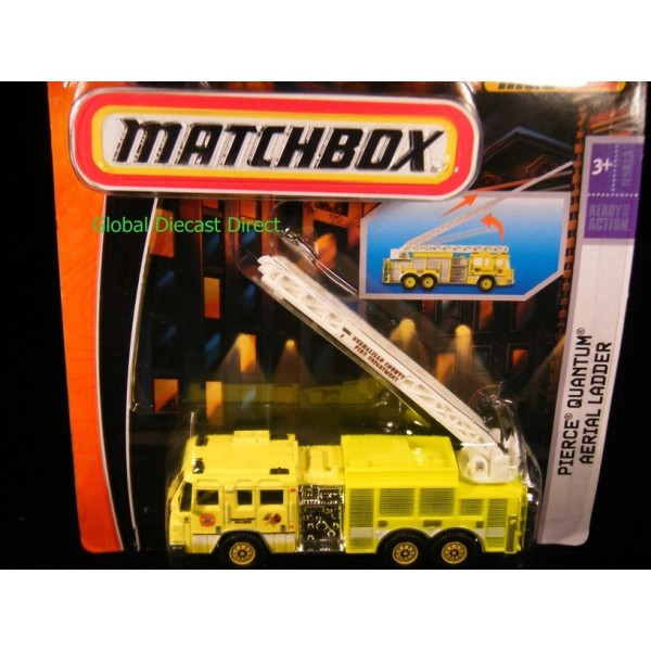 Matchbox Real Working Rigs Pierce Quantum Aerial Ladder