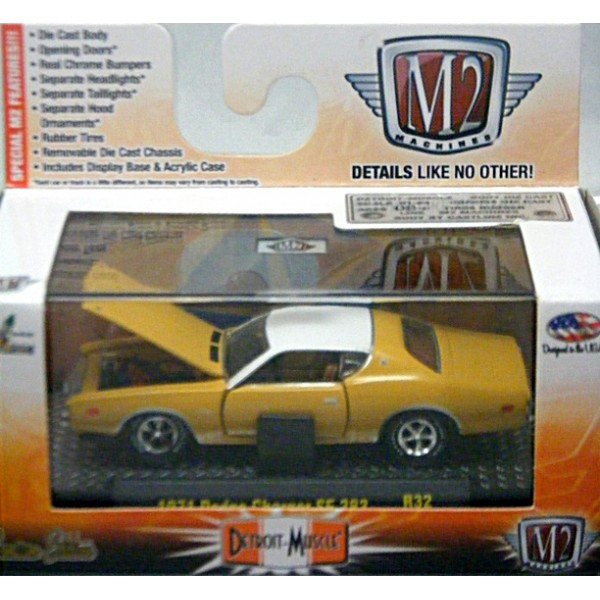 M2 Machines Detroit Muscle 1971 Dodge Charger Se 383 Global Diecast Direct