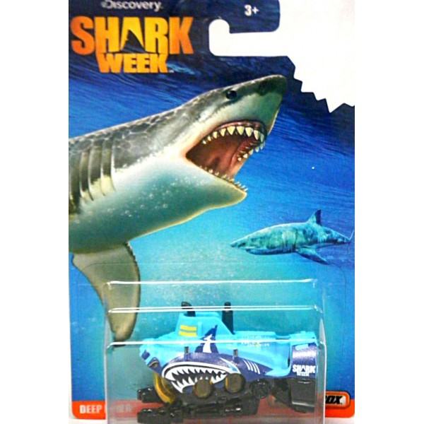 Matchbox Shark Week - Deep Diver Submarine - Global ...