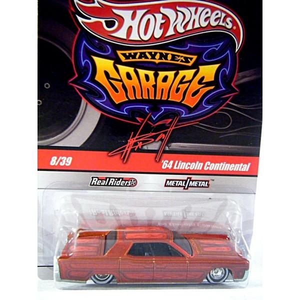 Hot Wheels Wayne's Garage 1964 Lincoln Continental ...