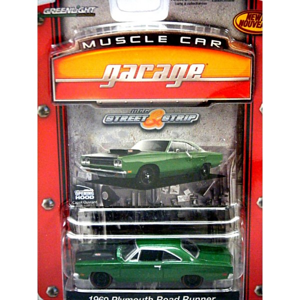 Greenlight Muscle Car Garage 1969 Plymouth Road Runner Global