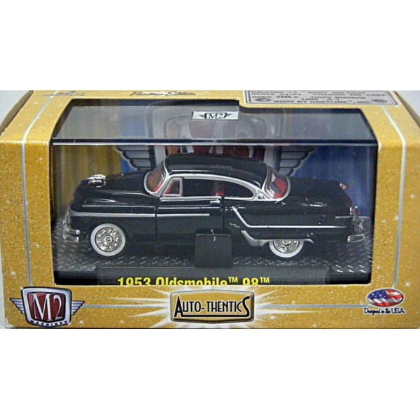 SET OF 6 1953 Oldsmobile 98 Red 1:64 Diecast M2 Machines Auto-Thentics