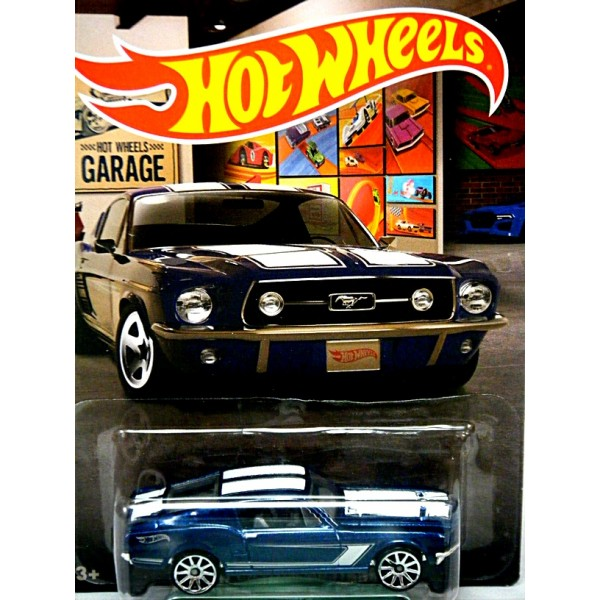 Hot Wheels Garage Series 1967 Ford Mustang Fastback