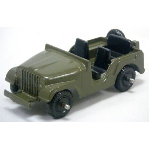 Midgetoy Unmarked Military Jeep