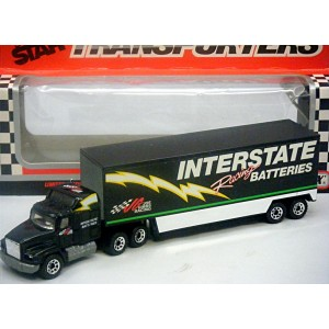Matchbox - NASCAR SUPERSTARS - Joe Gibbs Racing Interstate Batteries Ford Aeromax Transporter