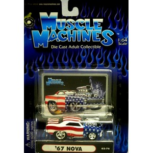 Muscle Machines - Stars & Stripes Chevy Nova SS