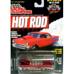 Racing Champions Hot Rod Magazine - 1958 Chevrolet Impala
