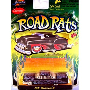 Jada Road Rats Series - 1959 Cadillac Coupe