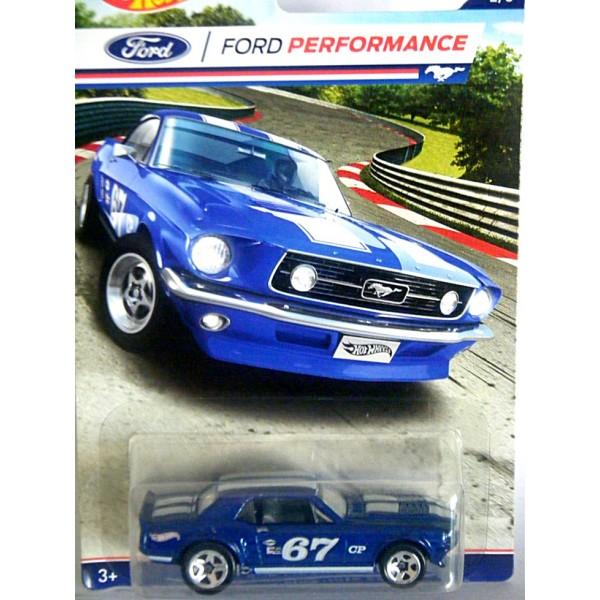Hot Wheels Ford Performance 1967 Ford Mustang Coupe Race Car