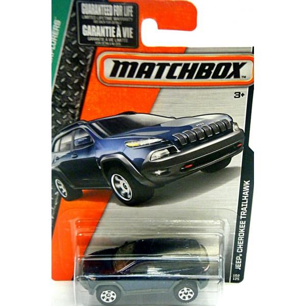 New Jeep Grand Wagoneer >> Matchbox - Jeep Cherokee Trailhawk - Global Diecast Direct