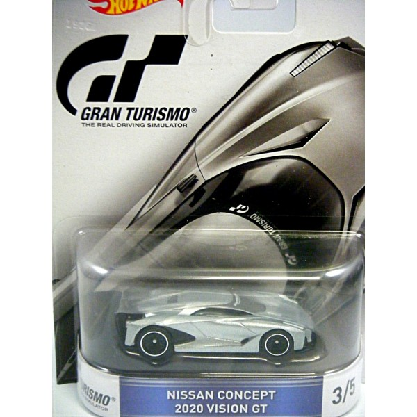 Hot Wheels - Gran Turismo - Nissan Concept 2020 Vision GT ...