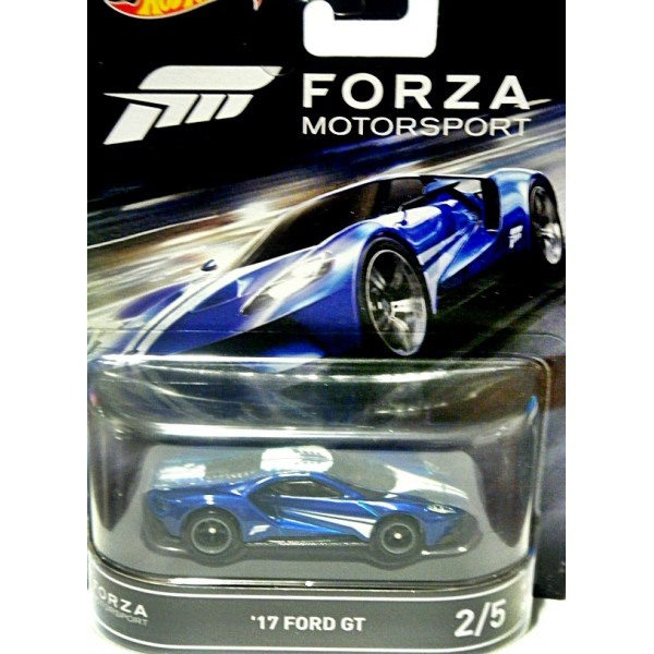 Hot Wheels - Forza Motorsports - 2017 Ford GT Supercar ...