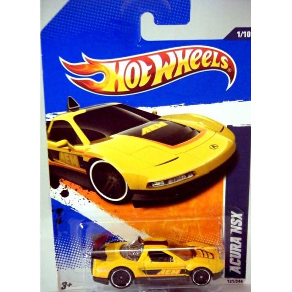 Hot Wheels Acura NSX Sports Car