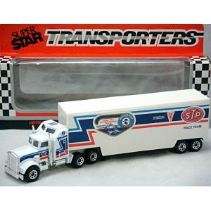 Matchbox Superstars - NASCAR - Richard Petty 1992 Fan Appreciation Tour Kenworth Team Transporter