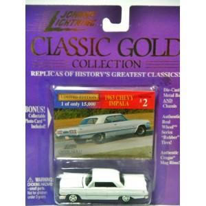 Johnny Lightning Classic Gold 1963 Chevrolet Impala