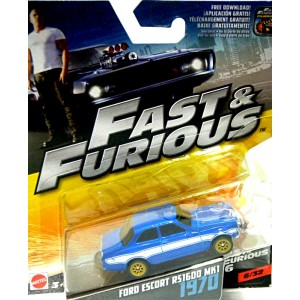 Mattel - Fast and Furious - 1970 Ford Escort RS1600 MK1