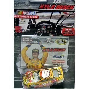 NASCAR Authentics - Joe Gibbs Racing - Kyle Busch Confetti M&M's Toyota Camry