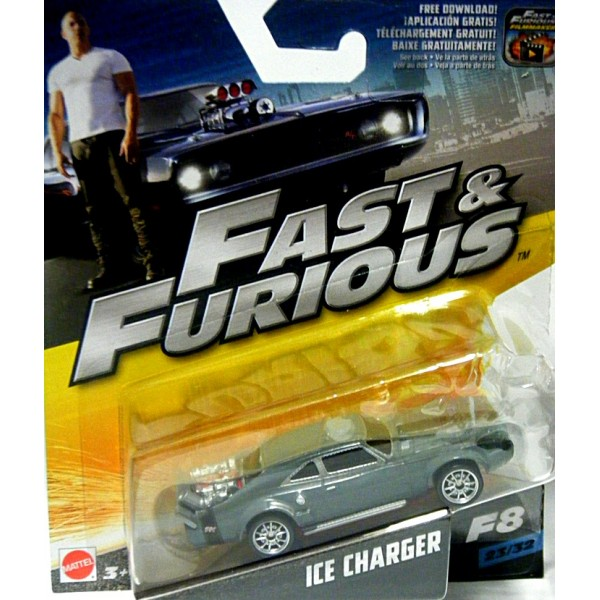 Chevy El Camino >> Mattel - Fast and Furious - Dodge Ice Charger - Global ...