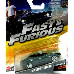 Mattel - Fast and Furious - Maserati Ghibli