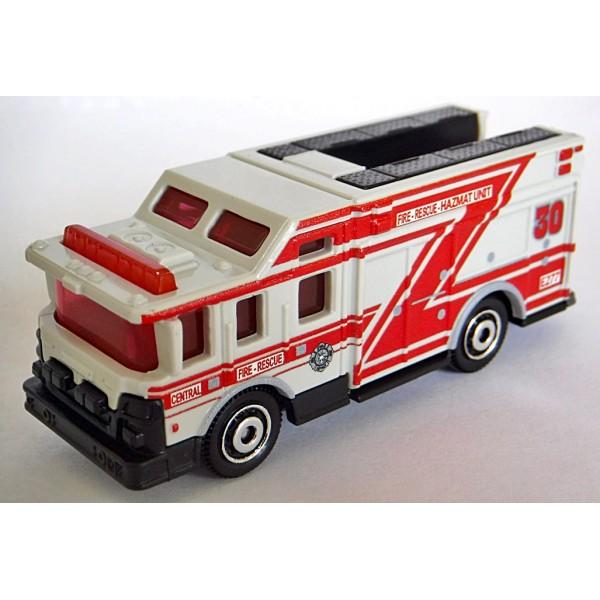 Matchbox Hazard Squad Emergency Response Fire Truck