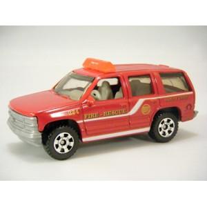 Matchbox Chevrolet Tahoe Fire Truck