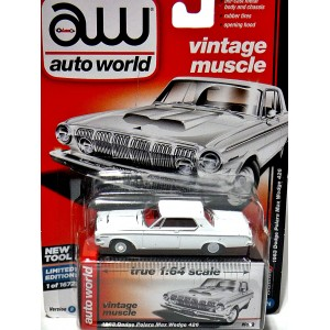 Auto World - Premium Series - 1963 Dodge Polara Max Wedge 426