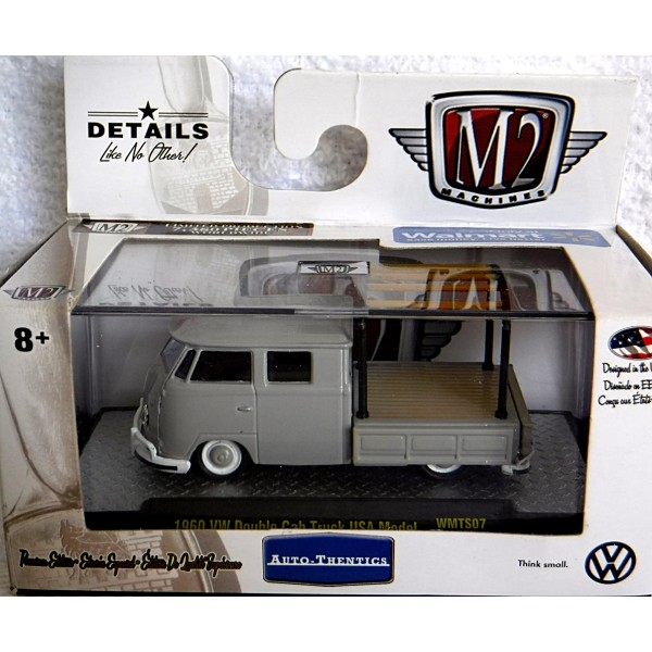 M2 Machines Auto Thentics Vw 1959 Vw Double Cab Pickup Truck With