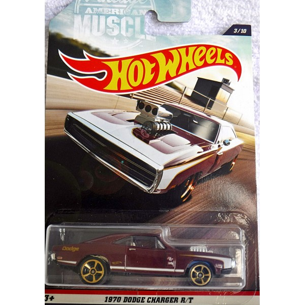 Hot Wheels Vintage American Muscle 1970 Dodge Charger