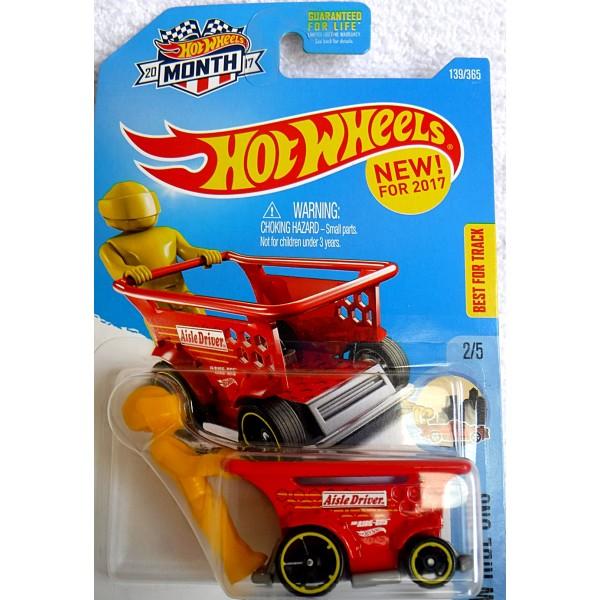 Hot Wheels - 2017 New Castings- Aisle Driver Hot Rod ...