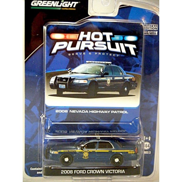 Greenlight Hot Pursuit Nevada Highway Patrol Ford Crown