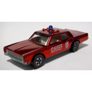 Hot Wheels - Redlines - Fire Chief Cruiser - Plymouth Fury