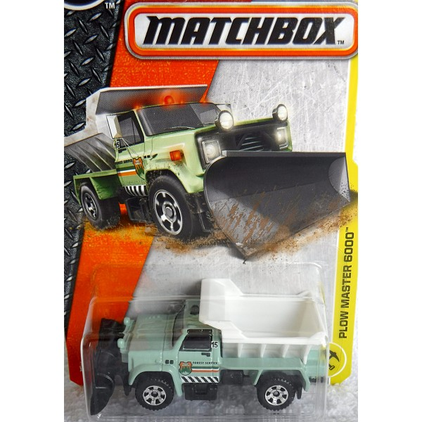 Matchbox GMC Forest Service Snow Plow - Global Diecast Direct
