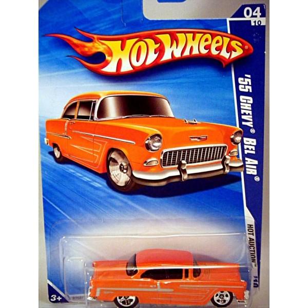 Hot Wheels 1955 Chevy Bel Air Hot Rod - Global Diecast Direct