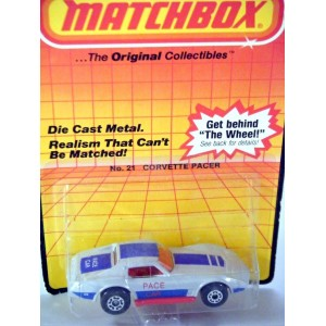 Matchbox Chevrolet Corvette C3 Coupe Pace Car