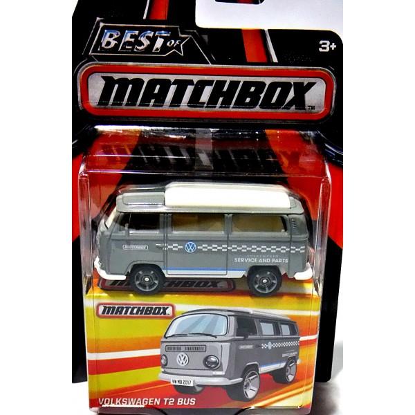Matchbox Best of VW T2 Volkswagen Service grau weiß in OVP ohne Blister