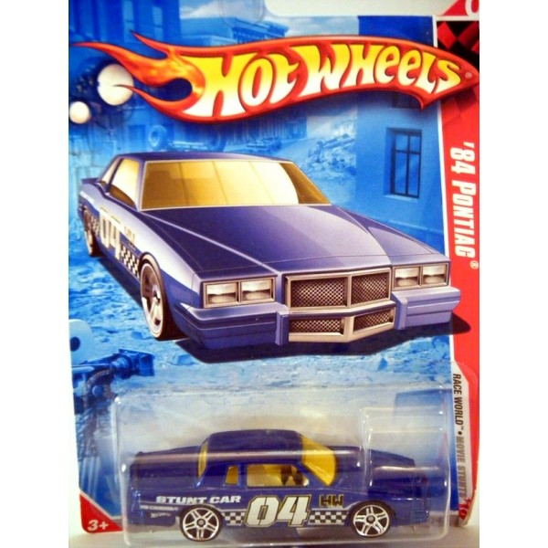 Hot Wheels 1984 Pontiac Grand Prix Stunt Car Global