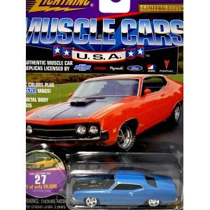 Johnny Lightning Muscle Cars USA - 1970 Ford Torino Cobra
