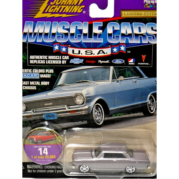 Johnny Lightning Muscle Cars Usa 1965 Chevy Nova Ss Global