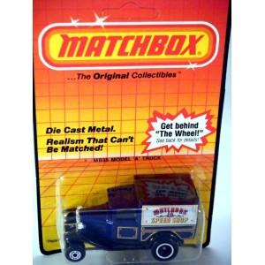 Matchbox Model A Ford Hot Rod Van - Matchbox Speed Shop