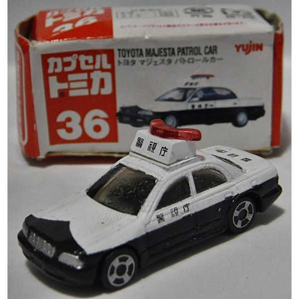 Tomica Toyota Crown Majesta Patrol Car