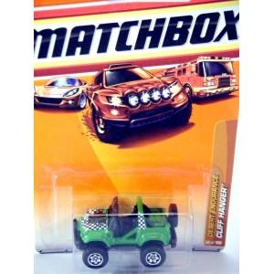 Matchbox Cliff Hanger 4x4 Dune Buggy - Jeep
