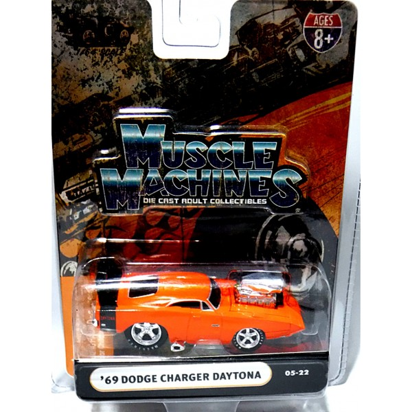 muscle machines  dodge charger daytona global diecast direct
