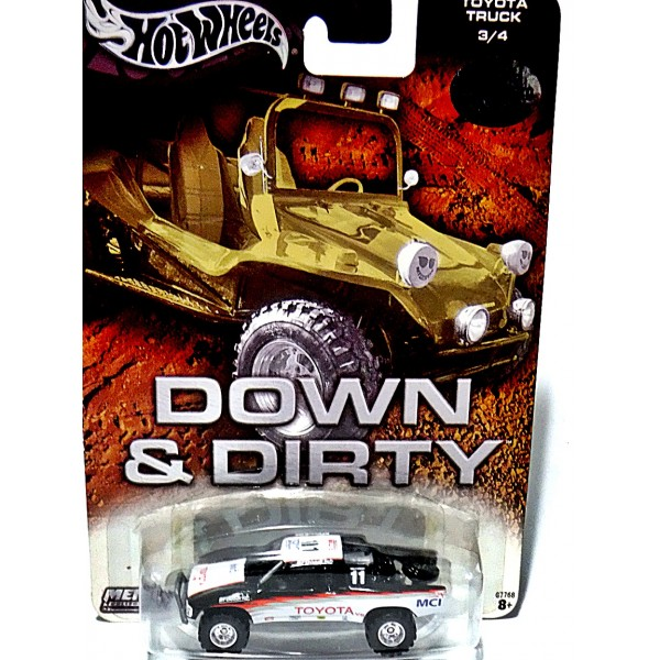 New Chevy Trucks >> Hot Wheels - Auto Affinity Down & Dirty - Toyota Off-Road ...