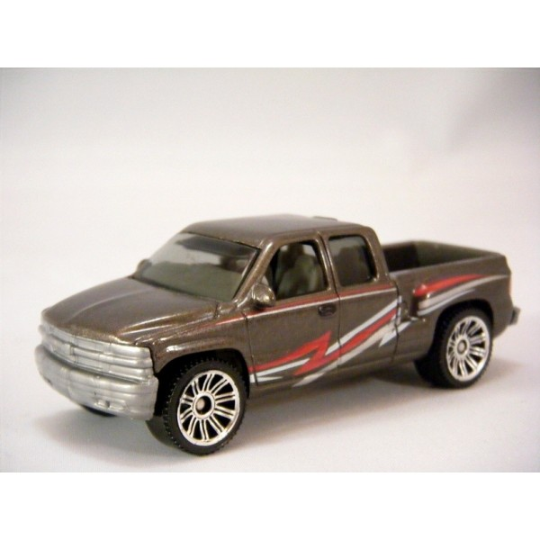 Matchbox Chevrolet Silverado SS Pickup Truck - Global ...